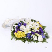 Mixed Flowers in Cellophane *