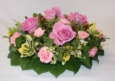 Pink Country Garden Posy