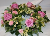 Pink Country Wreath